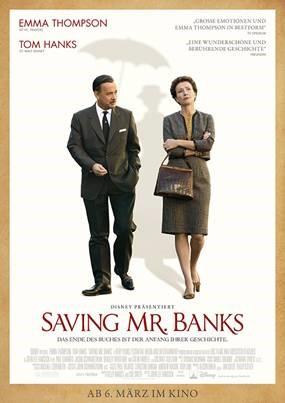 Interview mit Emma Thompson zu Saving Mr. Banks