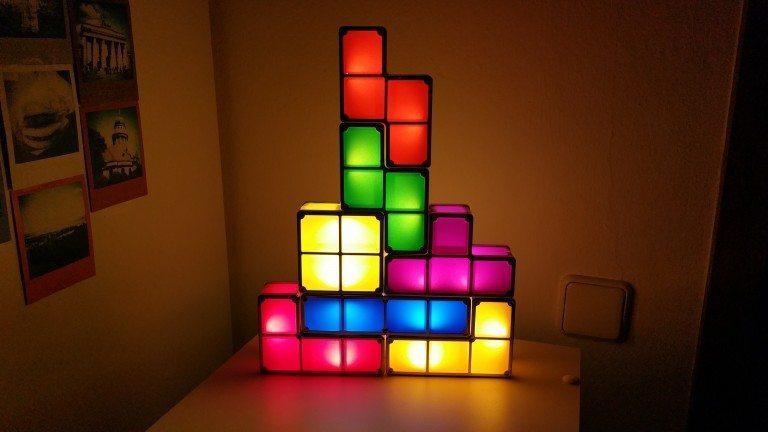 Tetris Lampe – Test / Review / Gewinnspiel