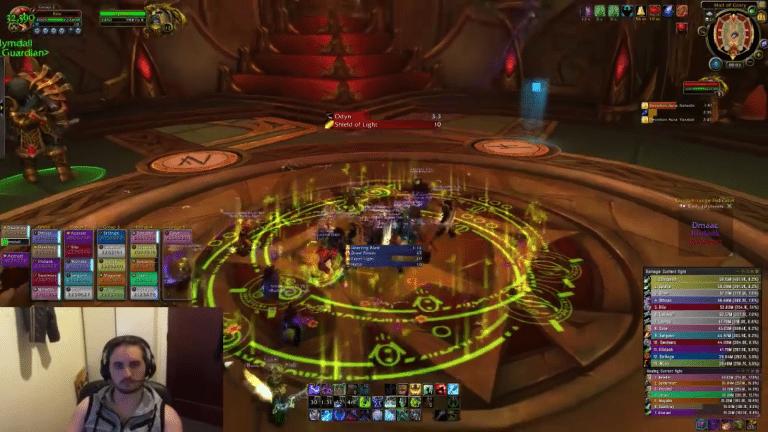 World of Warcraft: Erdbeben in Neuseeland, Streamer spielt dennoch weiter.