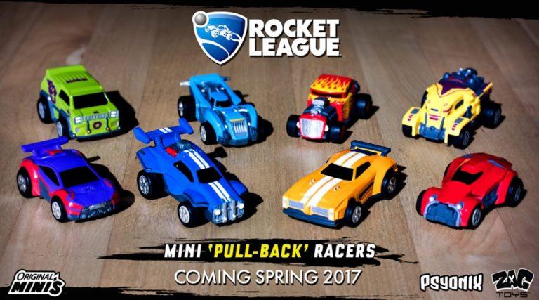 Die Rocket League Spielzeugautos kommen