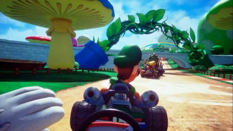 Mario Kart Arcade GP VR – Trailer aufgetaucht
