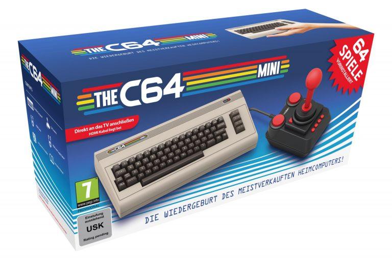 THEC64 Mini – Eine weitere Reise in die Vergangenheit