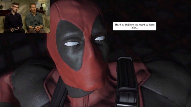 Deadpool-Star Ryan Reynolds spielt das Deadpool Game zum ersten Mal