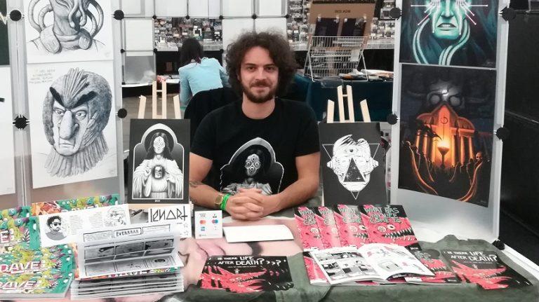 Comic Con Frankfurt – Künstlerecke mit Lenart