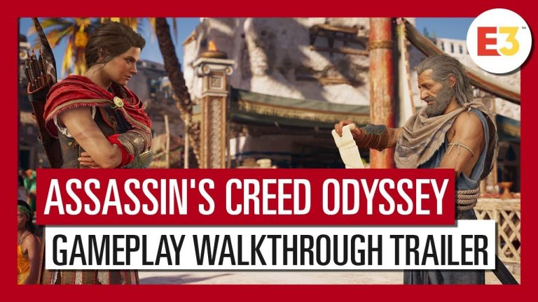 Assassin's Creed: Odyssey E3 Gameplay Trailer