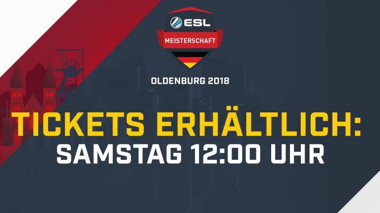 eSport – Die ESL Wintermeisterschaft zieht es nach Oldenburg