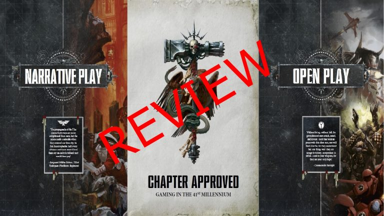 Review: Chapter Approved 2018