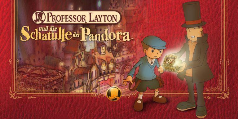 Professor Layton und die Schatulle der Pandora HD – Ab sofort für Mobilgeräte