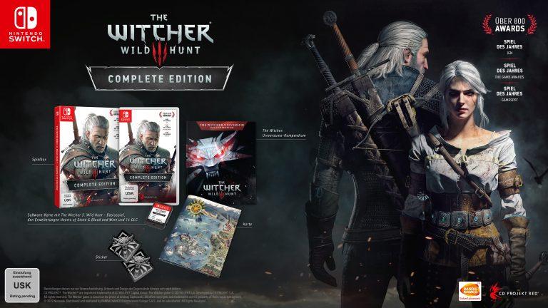 The Witcher 3: Wild Hunt Complete Edition erscheint dieses Jahr für Nintendo Switch!