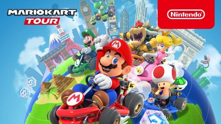 Mario Kart Tour kommt für iOS und Android Geräte