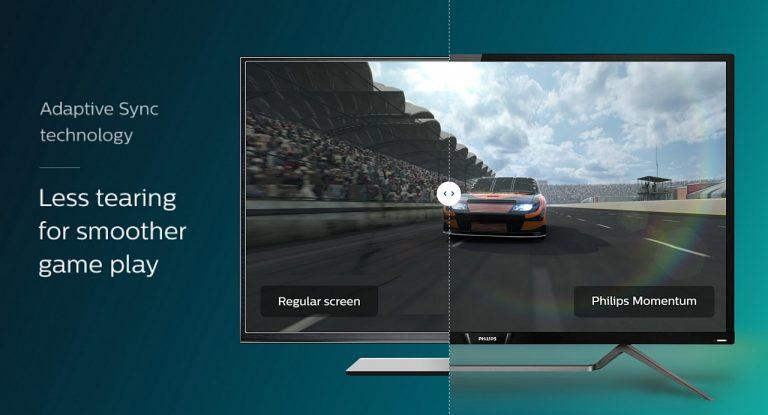 Neue Philips Momentum-Gaming-Monitore für die Konsole