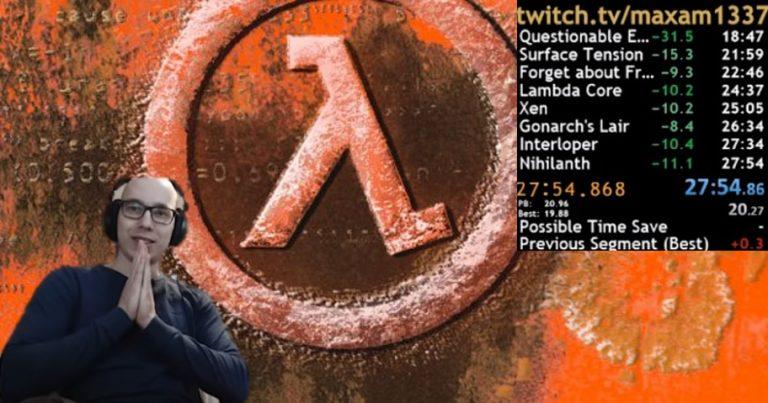 Half-Life World Record in unter 28 Minuten!