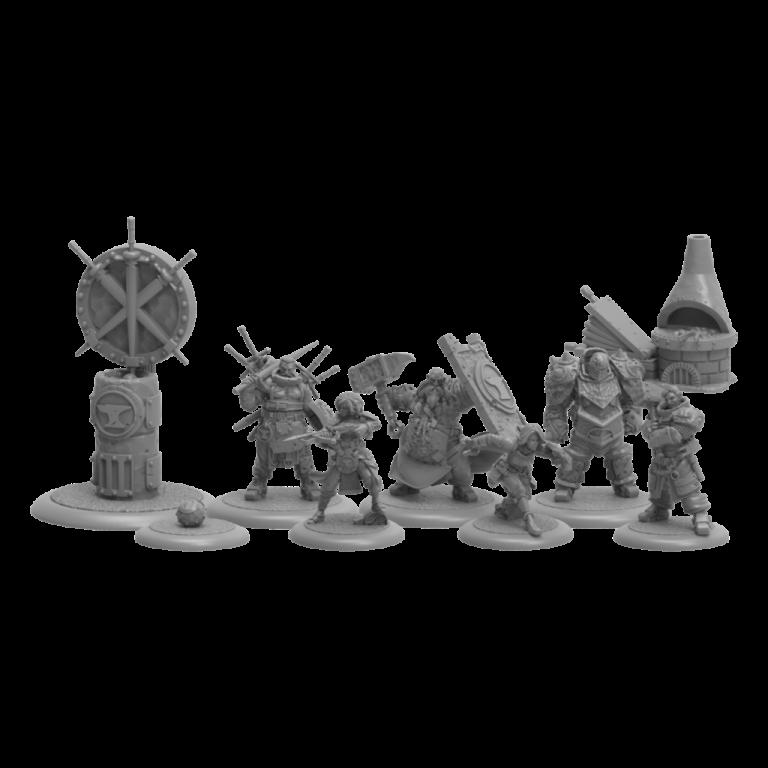 Die Blacksmiths in Guild Ball – Eisen und Feuer!