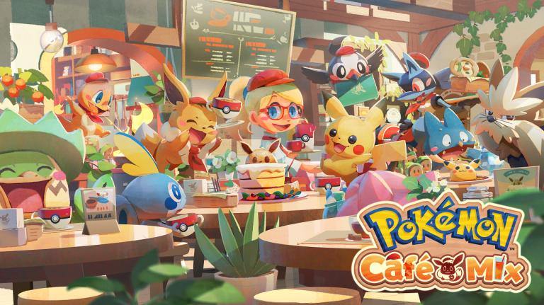 Pokémon Café Mix – Kostenloses Puzzel-Spiel