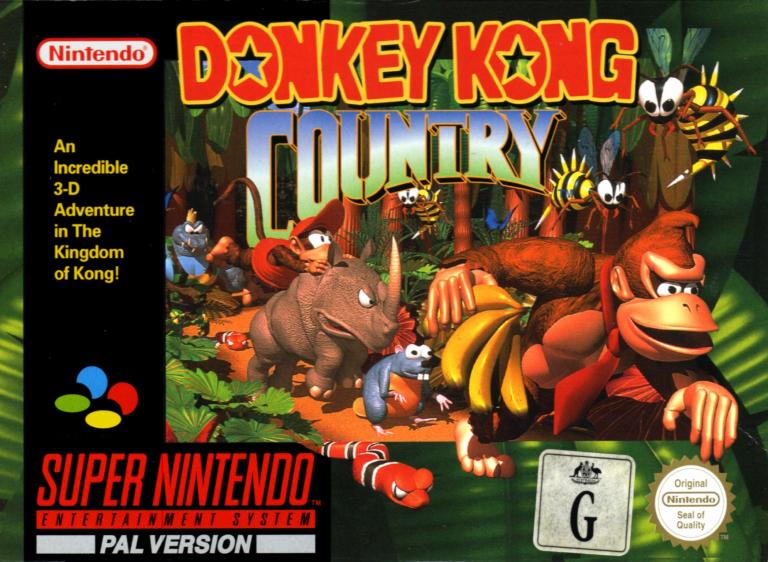 Donkey Kong Country und zwei weitere Klassiker für Switch
