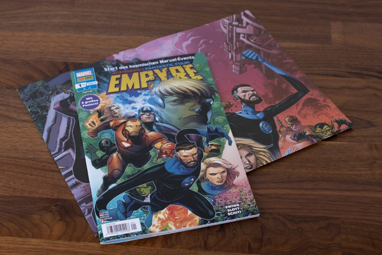 Marvel Empyre Band 1 – Comic Review
