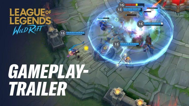 League of Legends: Wild Rift – Mobiles MOBA erscheint