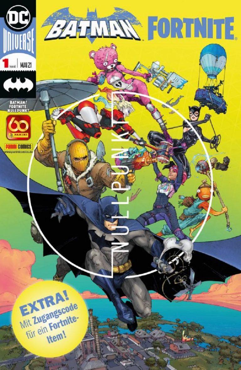 Batman Fortnite Nullpunkt – Crossover Comic