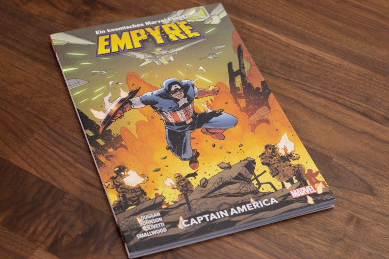 Marvel Empyre – Captain America – Comic Review