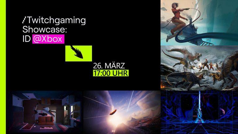 Twitchgaming Showcase am 26. März